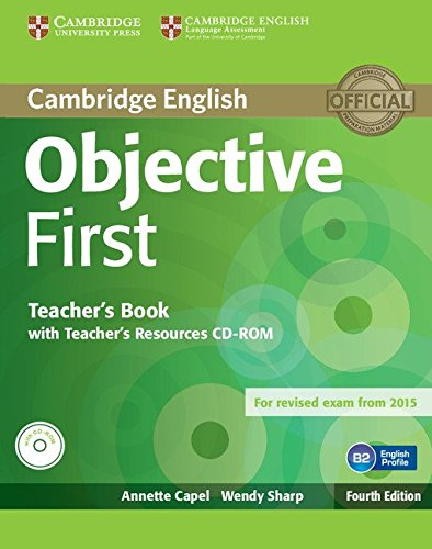 9781107628359: Objective First Teacher's Book with Teacher's Resources CD-ROM