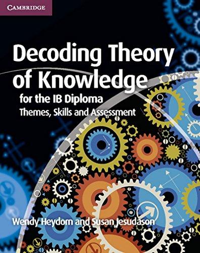 Decoding Theory of Knowledge for the IB Diploma: Heydorn, Wendy; Jesudason, Susan