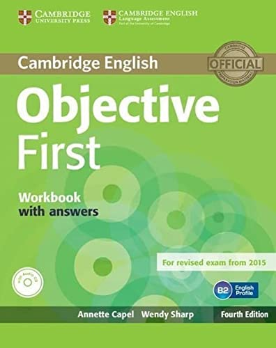 Objective First Workbook with Answers with Audio CD (Book & Merchandise): Annette Capel