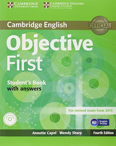9781107628557: Objective first certificate. Student's book. With answers. Per le Scuole superiori. Con CD-ROM. Con espansione online