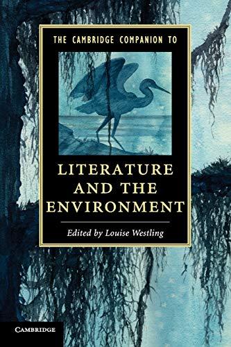 9781107628960: The Cambridge Companion to Literature and the Environment (Cambridge Companions to Literature)