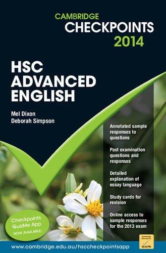 Cambridge Checkpoints HSC Advanced English 2014: Mel Dixon