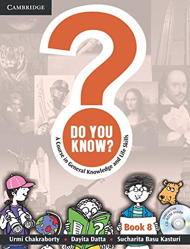 Do You Know? (A Course in General Knowledge and Life Skills), Book 8: Sucharita Basu Kasturi,Dayita...