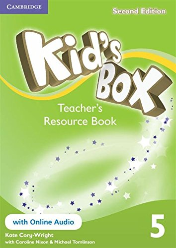 Kids Box Level 5 Teachers Resource Book With Online Audio: KATE CORY-WRIGHT