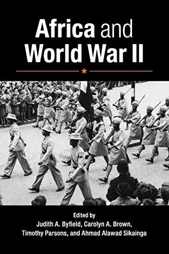 9781107630222: Africa and World War II
