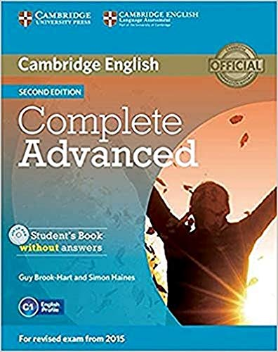 9781107631069: Complete Advanced Student's Book without Answers with CD-ROM [Lingua inglese]
