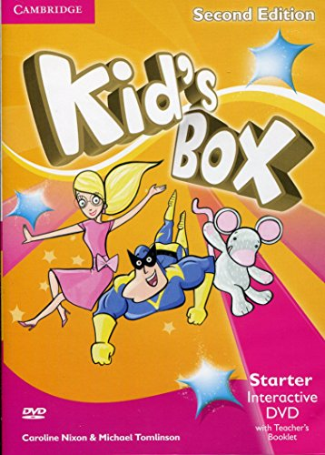 9781107631144: Kid's Box Starter Interactive DVD (NTSC) with Teacher's Booklet Second Edition - 9781107631144