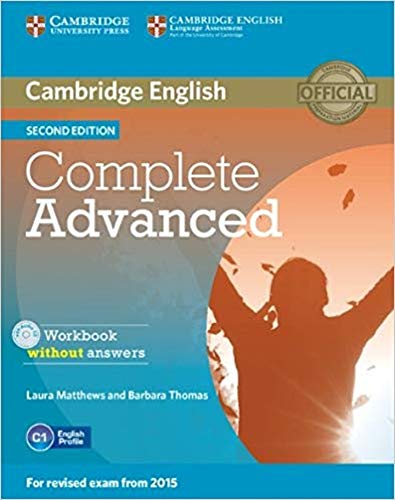 9781107631489: Complete Advanced Workbook without Answers with Audio CD