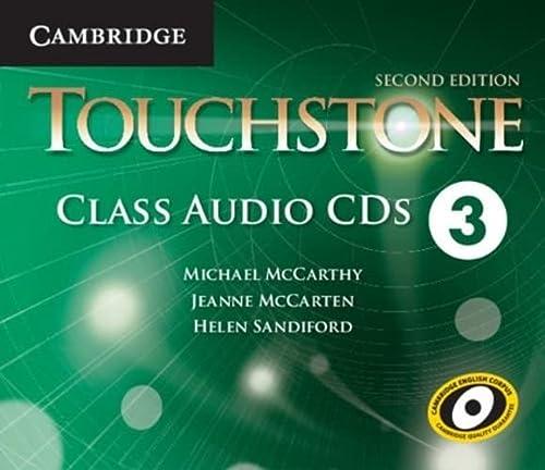 9781107631793: Touchstone Level 3 Class Audio CDs (4)