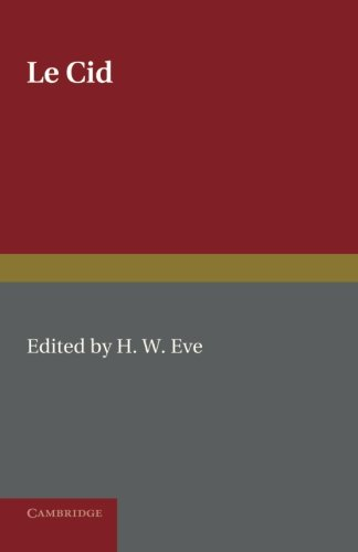 9781107631946: Le Cid: Edited with Introduction and Notes
