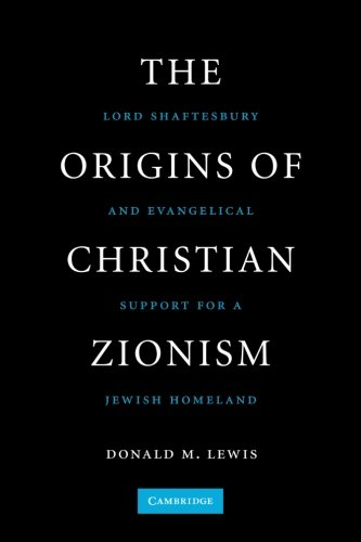 The Origins of Christian Zionism: Lord Shaftesbury and Evangelical Support for a Jewish Homeland (...
