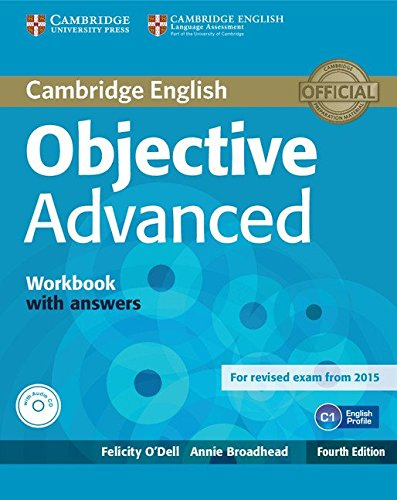 Objective Advanced 4th ed WB + key + Audio CD