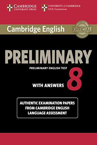 Cambridge English Preliminary 8 Student's Book with Answers (Paperback)