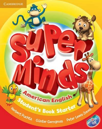 9781107632486: Super Minds American English Starter Student's Book with DVD-ROM - 9781107632486