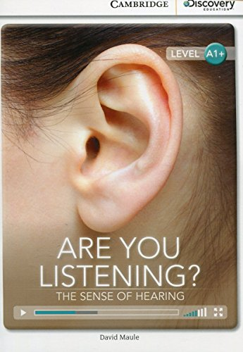 9781107632516: Are You Listening? The Sense of Hearing High Beginning Book with Online Access (Cambridge Discovery Interactive Readers)