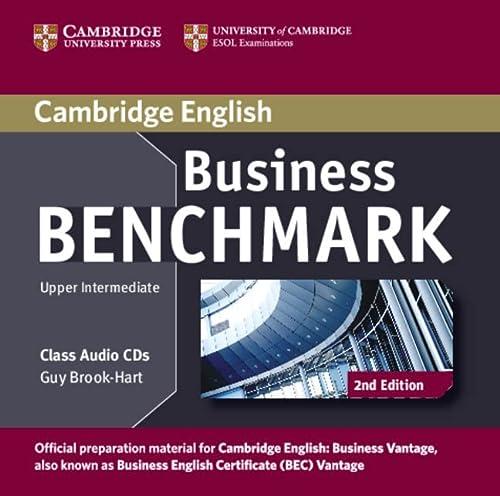 9781107633155: Business Benchmark Upper Intermediate Business Vantage Class Audio CDs (2)