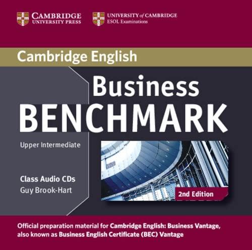 9781107633155: Business Benchmark. Upper intermediate. BEC Vantage