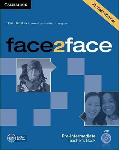 9781107633308: face2face Pre-intermediate Teacher's Book with DVD
