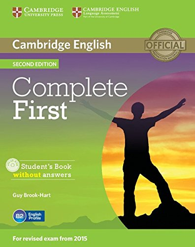 9781107633902: Complete first second edition. Student's book without answers with CD-ROM [Lingua inglese]