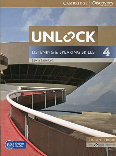 9781107634619: Unlock Level 4 Listening and Speaking Skills Student's Book and Online Workbook