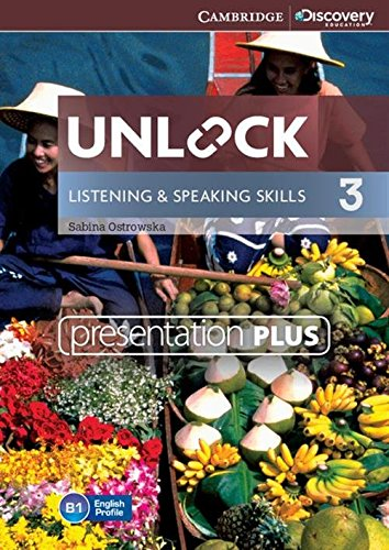 9781107635432: Unlock Level 3 Listening and Speaking Skills Presentation Plus DVD-ROM (Cambridge Discovery Education Skills)