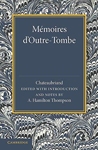 9781107635463: Mémoires d'Outre-Tombe