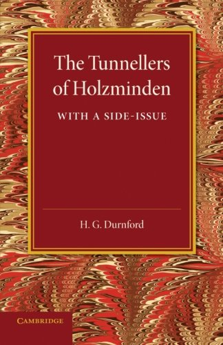 9781107636071: The Tunnellers of Holzminden