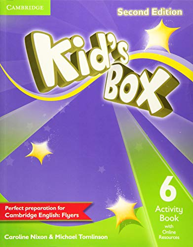 9781107636156: Kid's Box Level 6 Activity Book with Online Resources Second Edition - 9781107636156
