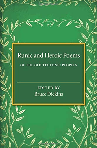 9781107636439: Runic and Heroic Poems of the Old Teutonic Peoples