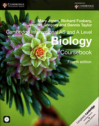 9781107636828: Cambridge International AS and A Level Biology Coursebook with CD-ROM