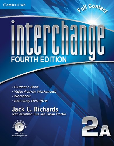 9781107637191: Interchange 4th  2 Full Contact A with Self-study DVD-ROM (Interchange Fourth Edition)