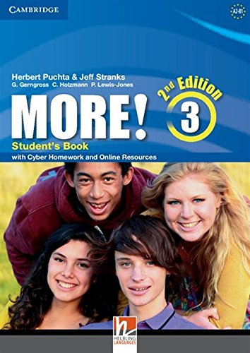 9781107637375: More! Level 3 Student's Book with Cyber Homework and Online Resources