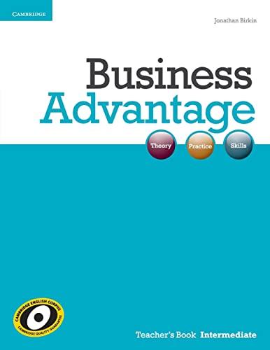 9781107637702: Business Advantage Intermediate Teacher's Book
