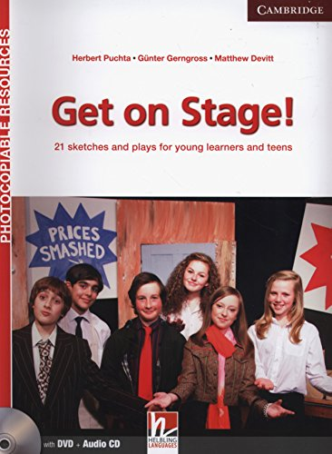 9781107637757: Get on Stage! Teacher's Book with DVD and Audio CD: 21 Sketches and Plays for Young Learners and Teens