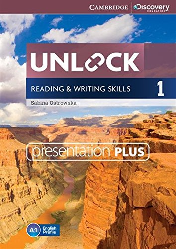 Unlock Level 1 Reading and Writing Skills Presentation Plus DVD-ROM (DVD-Video): Sabina Ostrowska