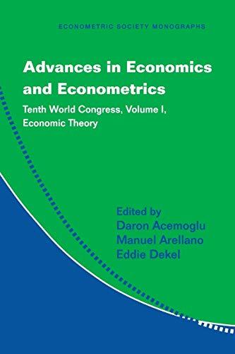 Advances in Economics and Econometrics 3 Volume Paperback Set: Advances in Economics and ...