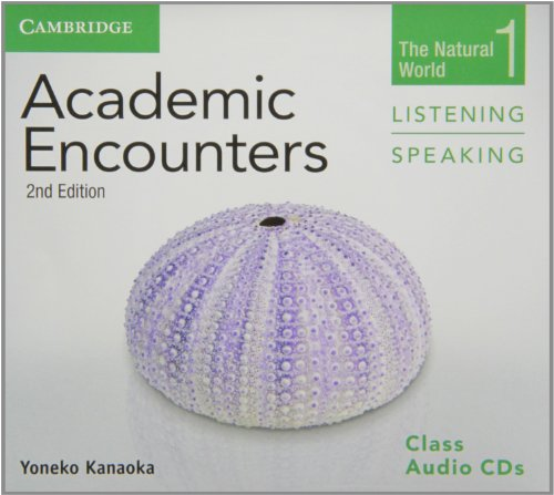 9781107638259: Academic Encounters Level 1 Class Audio CDs (2) Listening and Speaking: The Natural World