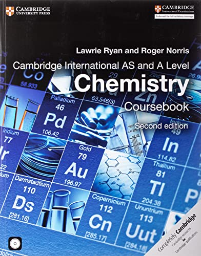 9781107638457: Cambridge International AS and A Level Chemistry Coursebook with CD-ROM