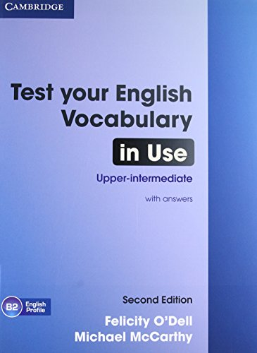 9781107638785: Test Your English Vocabulary in Use Upper-intermediate Book with Answers