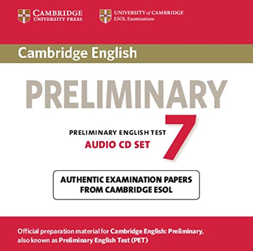 9781107638884: Cambridge English Preliminary 7 Audio CDs (2) (PET Practice Tests)