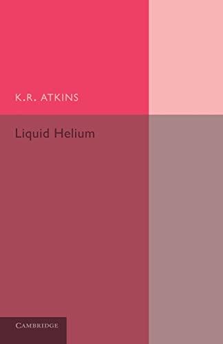 Liquid Helium: K. R. Atkins