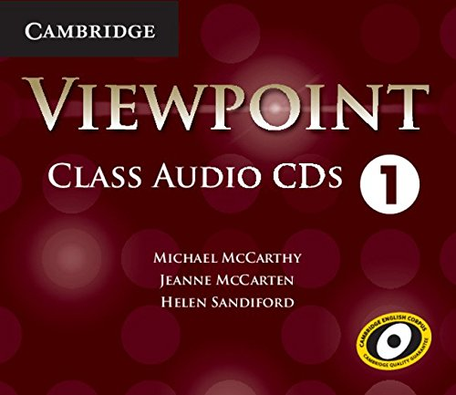 9781107639881: Viewpoint Level 1 Class Audio CDs (4)
