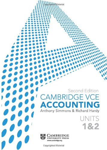 9781107640290: Cambridge VCE Accounting Units 1 and 2