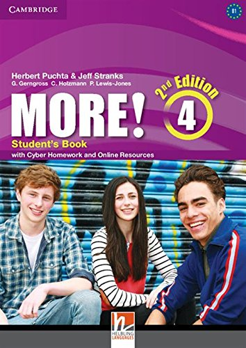 9781107640511: More! Level 4 Student's Book with Cyber Homework and Online Resources