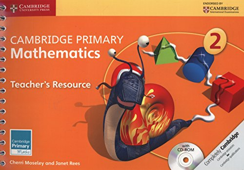 9781107640733: Cambridge Primary Mathematics Stage 2 Teacher's Resource with CD-ROM (Cambridge Primary Maths)