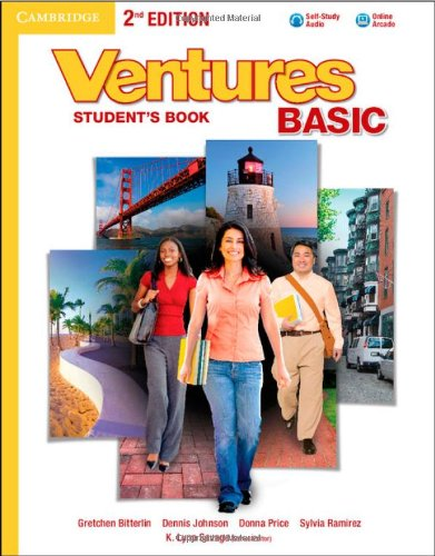 Ventures Basic Student's Book with Audio CD Second Edition: Bitterlin, Gretchen; Johnson, ...