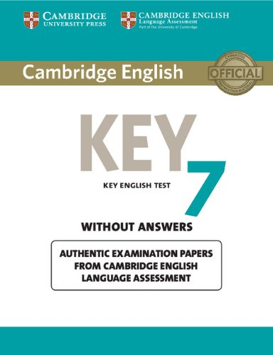 9781107641853: Cambridge English key 7. Student's book without answers