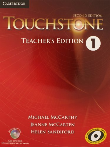 9781107642232: Touchstone Level 1 Teacher's Edition with Assessment Audio CD/CD-ROM