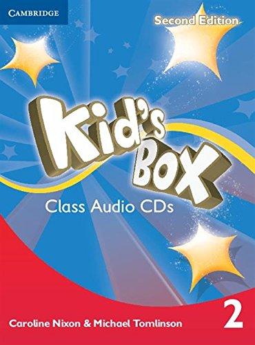 9781107643048: Kid's Box Level 2 Class Audio CDs (4) Second Edition - 9781107643048