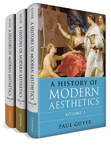 A History of Modern Aesthetics 3 Volume Set: Jo Guldi